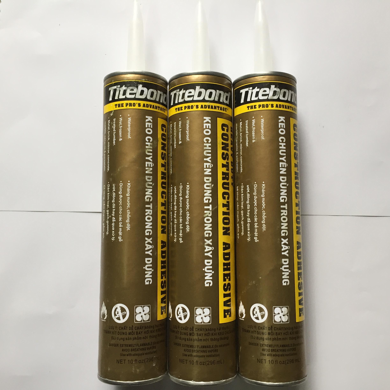 3 Keo titebond dán sắt nhựa gỗ đá dùng trong xây dựng