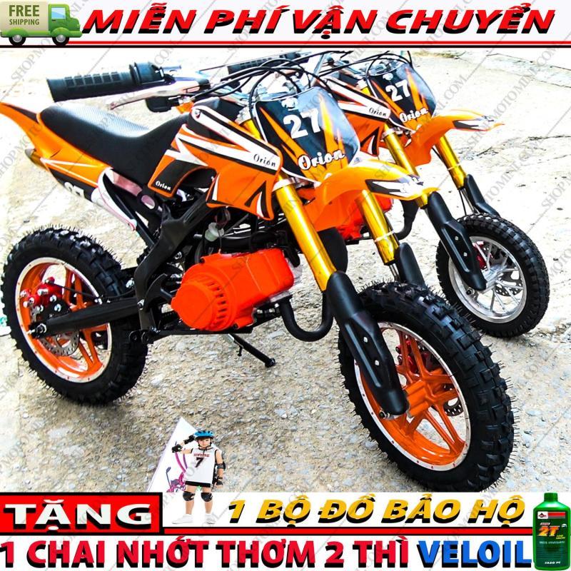 Mua Xe cao cao moto mini 50cc ( Bánh Lớn )   Moto ruồi Tam Mao 2 thì gắn máy cắt cỏ chạy bằng động cơ xăng pha nhớt 2 thì