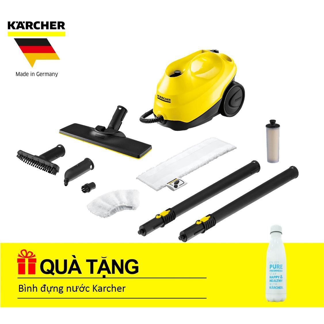 Máy làm sạch và lau sàn Karcher SC 3 easyfix tặng bình đựng nước trị giá 500k