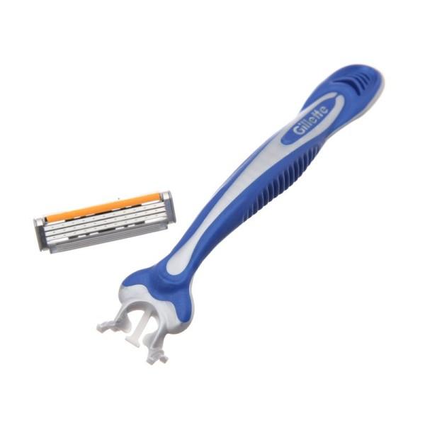 [Siêu thị VinMart] -  Dao cạo râu dùng 1 lần Gillette Blue 3 Disposable Razor 2 cây