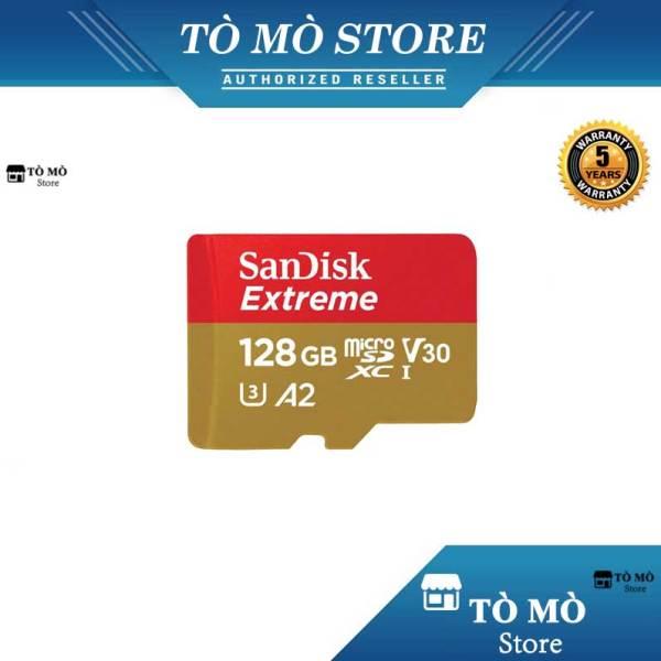Thẻ nhớ MicroSDXC SanDisk Extreme 128GB A2 ~ 160MB/s - Bảo hành 5 năm