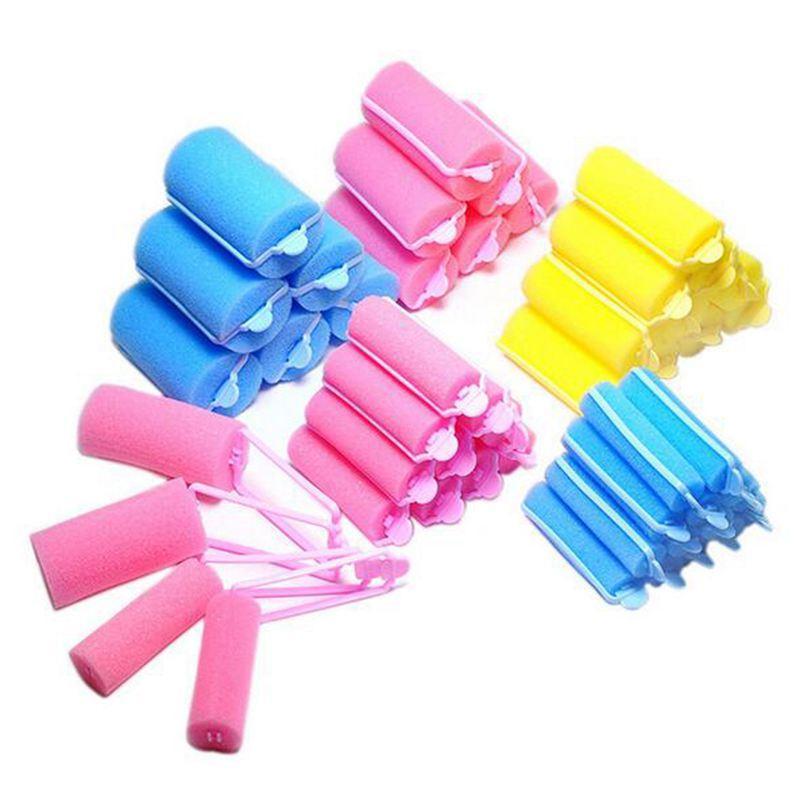 Magic Sponge Foam Cushion Hair Styling Rollers Popular Foam Soft Sponge Hair Roller Hair Curler Roller (2.0mm) cao cấp