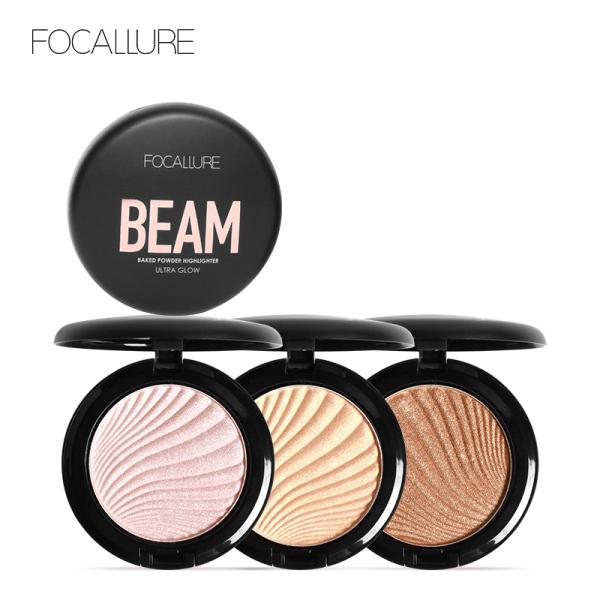 Phấn bắt sáng Focallure mềm mịn bền màu lâu trôi giúp làm sáng và nổi bật gương mặt với 4 màu tùy chọn - INTL