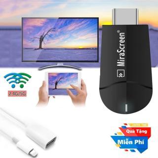 ( Quà tặng Cáp OTG cho iphone ) Thiết bị HDMI không dây cao cấp Miracast K6 - Hỗ trợ độ phân giải lên đến 4K thumbnail