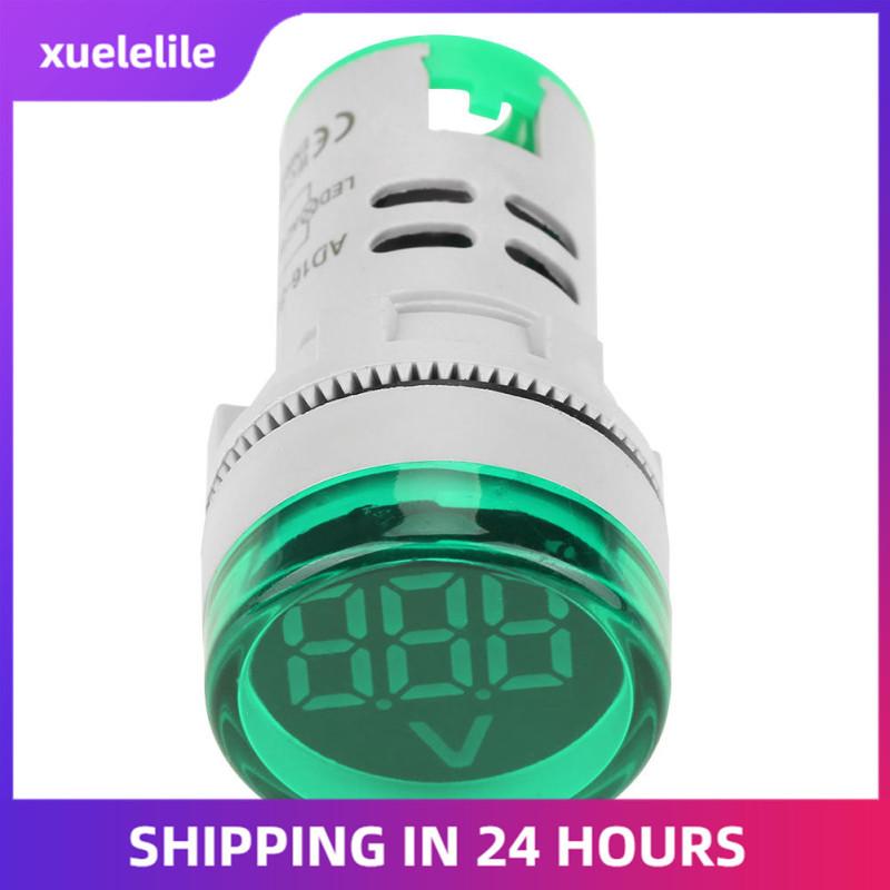 Bảng giá xuelelile Vôn kế kỹ thuật số với chỉ báo đèn led cho dòng điện xoay chiều - intl