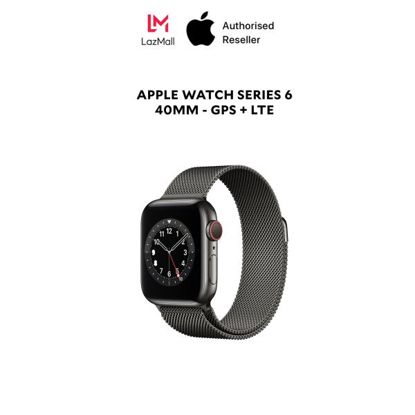 Apple Watch Series 6 40mm LTE Bản viền thép -Hàng Chính Hãng
