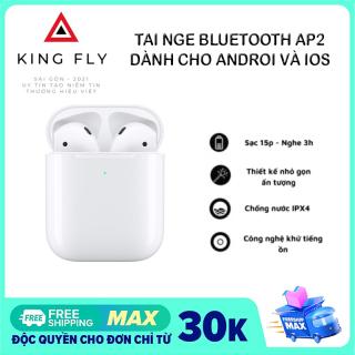 Tai nghe bluetooth không dây AP2, âm bass siêu trầm, kết nối với tất cả các dòng điện thoại, đổi tên, định vị vị trí trên iphone. Bảo hành 6 tháng lỗi 1 đổi 1 thumbnail