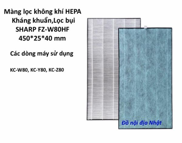 Bảng giá Màng lọc Hepa Sharp FZ-W80HF