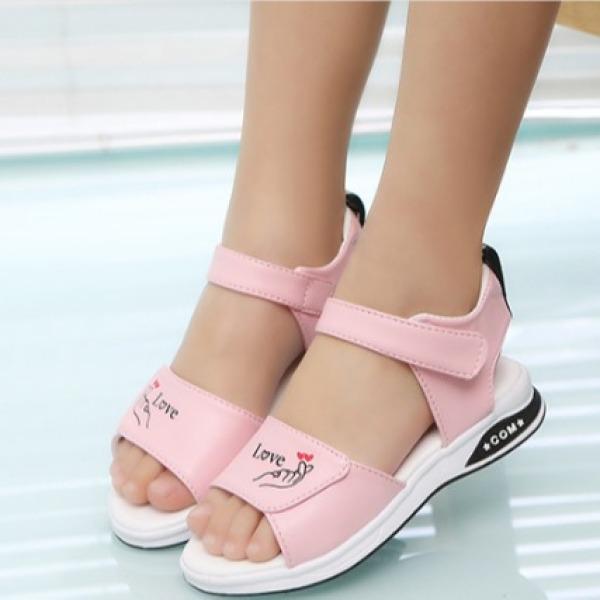 Giá bán Giày sandal nữ đi học cho bé Dép sandal phong cách Hàn Quốc cho bé gái 3 tuổi đến 10 tuổi