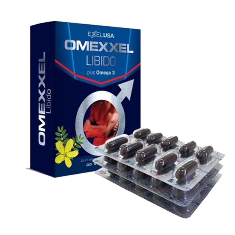 Viên uống tăng cường sinh lý nam giới Omexxel 30 viên - Xuất xứ Mỹ nhập khẩu
