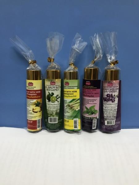 Dầu lăn thảo dược Banana Thái Lan ( Lavender, Chanh, Sả, Dứa (thơm), Bạc hà) nhập khẩu