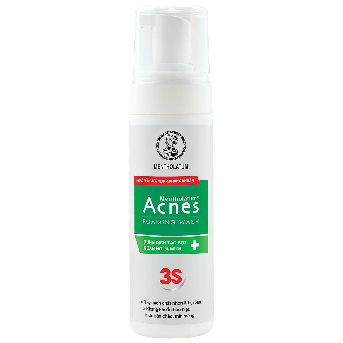 Dung dịch rửa mặt tạo bọt Acnes 150ml nhập khẩu