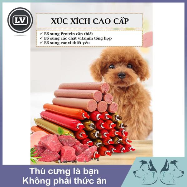 Xúc xích dinh dưỡng dành cho chó mèo giá rẻ (500g - 30 thanh)