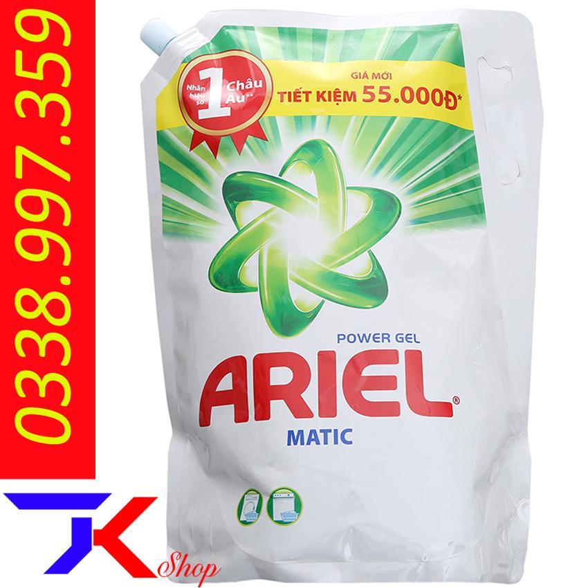 Nước Giặt Ariel Matic Túi 2.4kg Siêu Khuyến Mãi