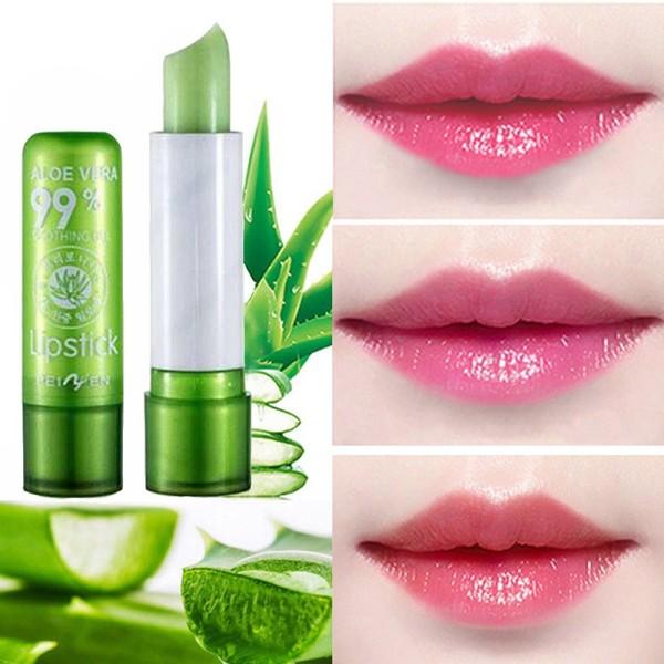 Son dưỡng môi chiết xuất lô hội aloe vera 99% vỏ xanh -SD67-K10T1 giá rẻ