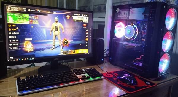 Bảng giá Bô PC căng tất cả các game online  i3 4160 / Ram 8G / VGA GTX 1050 2G DR5 / SSD 120G + HDD 250G / MÀN HÌNH 24in FHD / Phone phím chuột led Phong Vũ