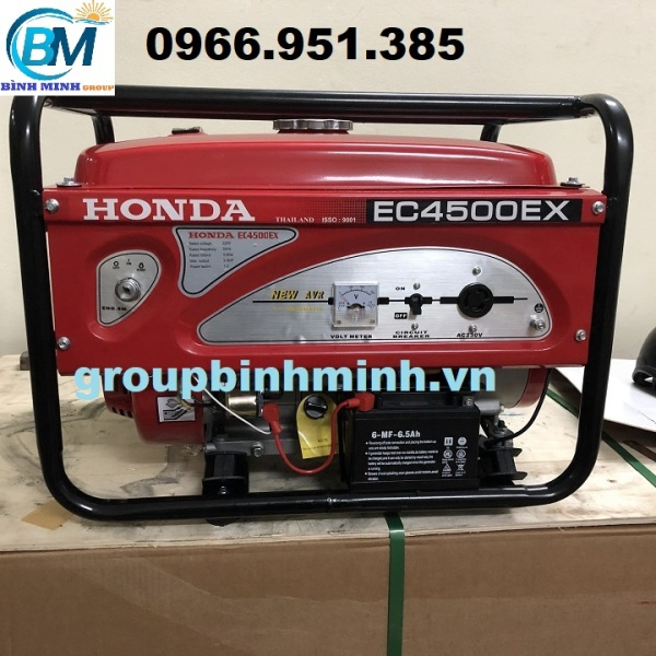 Máy Phát Điện Honda Chạy Xăng 3kw EC4500EX Đề