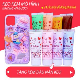 Keo Kem Mô phỏng Trang trí Điện thoại Handmade (50 gram)-Tặng đầu nặn thumbnail