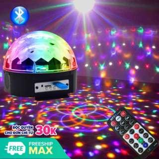 Đèn LED 7 Màu USB Đèn Bay Vũ Trường Đèn Cầu Vũ Trường Trang Trí Phòng Karaoke Phòng Bay Phòng Khách vv, Ánh LED Đẹp Tỏa Rộng.Sale 50%. thumbnail