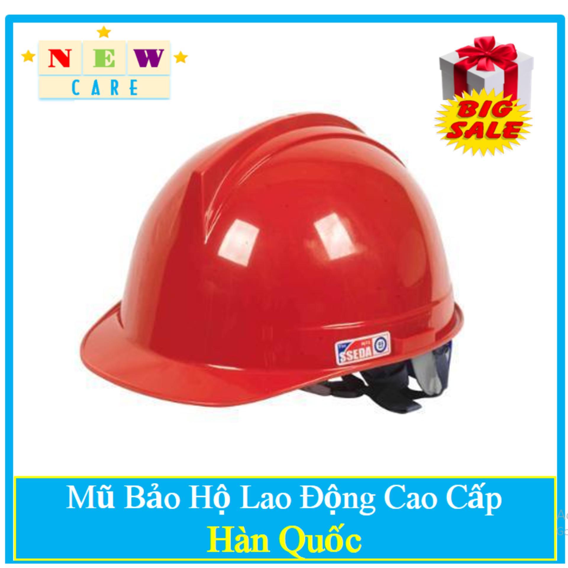 Mũ Bảo Hộ Hàn Quốc SSEDA - Tặng Nút Tai Chống Ồn