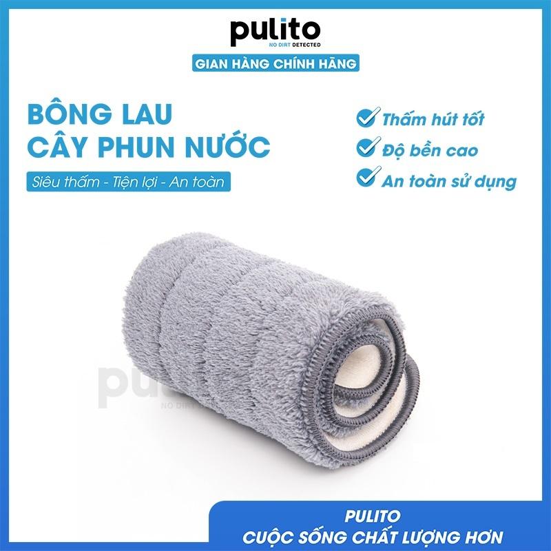Bông lau Pulito thiết kế dành riêng cho cây lau nhà phun sương, rất dễ thay thế thấm hút siêu tốt với sợi Microfiber LS-CPN-BL