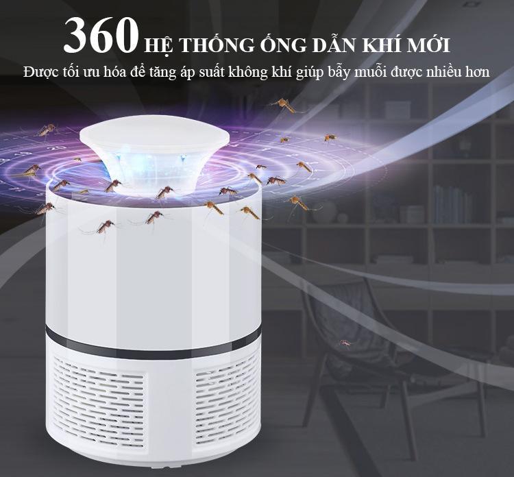 Đèn Bắt Muỗi Và Côn Trùng Siêu Tiết Kiệm Điện - KF002