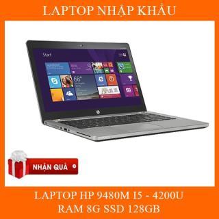 LAPTOP HP ELITEBOOK FOLIO 9480M. May keng , Nhập khẩu nguyên bản chính hãng, bảo hành 12 tháng 1 đổi 1 , thumbnail