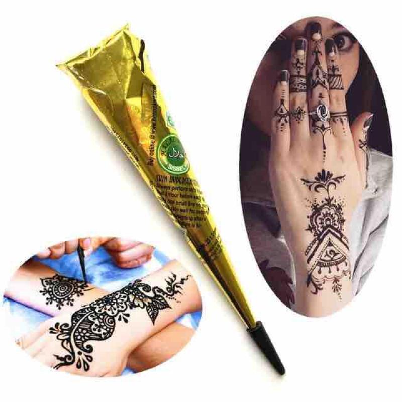 Mực vẽ henna màu đen nhập khẩu