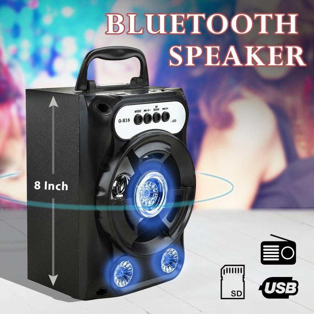 (Siêu Giảm Giá Tri Ân Khách Hàng) Loa Bluetooth xách tay Âm Thanh To,Loa bluetooth âm thanh hay, Loa bluetooth, Loa xách tay bluetooth ( Mẫu mới 2019)