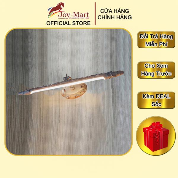 Đèn Trang Trí Tranh Tân Cổ Điển - JOYMART - Đèn Soi Tranh LED 3 Màu, Thân Sứ Composite Cao Cấp MST05L