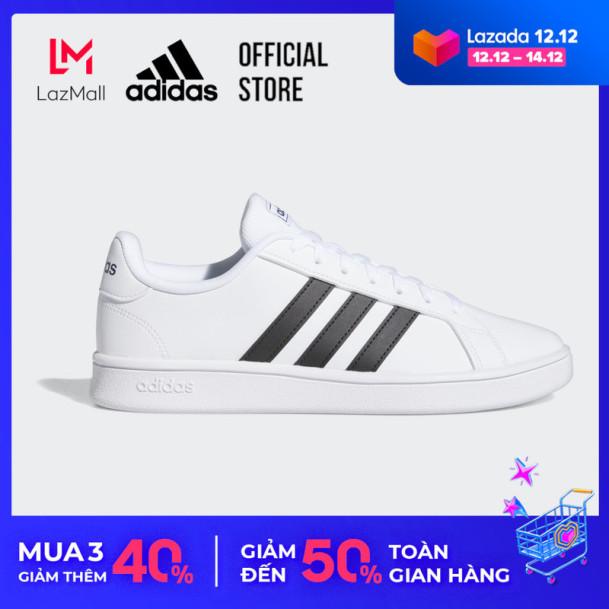 adidas TENNIS Giày Grand Court Base Nam Màu trắng EE7904 giá rẻ