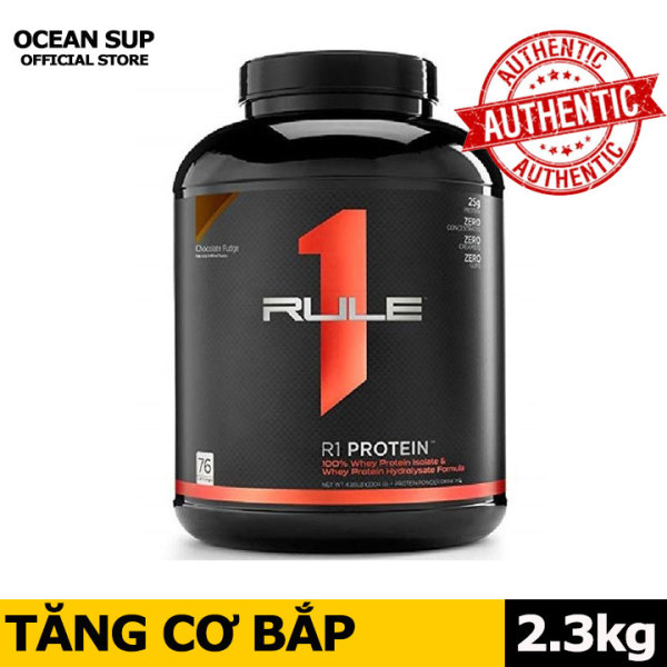 Whey Protein Rule 1 Whey ISOLATE Hydrolyzed Whey Cao Cấp Hộp 5lbs