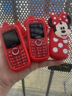 Điện thoại Mini - Lber D11- Hỗ trợ tính năng thay đổi giọng nói - Hỗ trợ kết nối với smartphone thông qua Bluetooth Dễ Thương thumbnail
