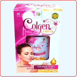 Viên uống đẹp da Colgen Extra- Thành phần Maca, Glutathione 400mg, Colagen tuyp I Nhập Khẩu Ý- Hộp 30 viên 4