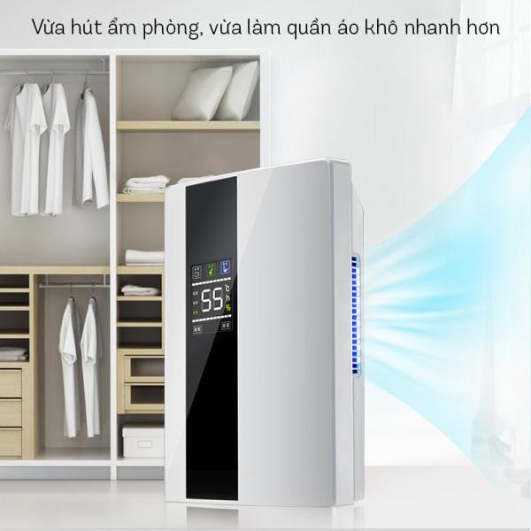 Máy hút ẩm Yangzi CS-10E công nghệ hút ẩm Hybrid màn hình LED kèm điều khiển từ xa cho nhà bạn thông thoáng, trong lành