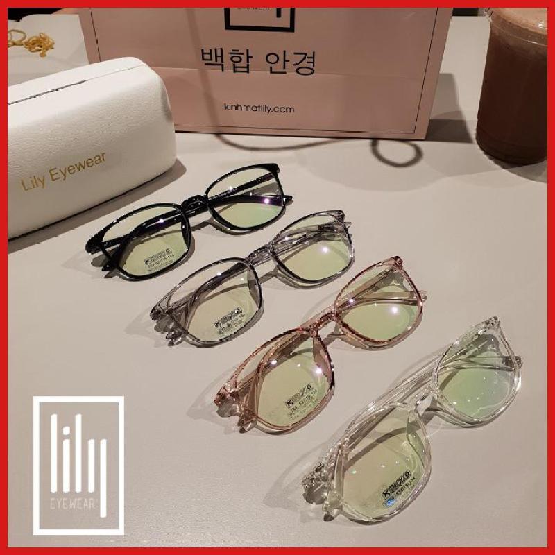 Giá bán Kính Cận Thời Trang Hàn Quốc 204-Kính Gọng Dẻo-Gọng Kính Cận-Kính Cận Unisex-Gọng Kính Cận Đẹp-Lily Eyewear