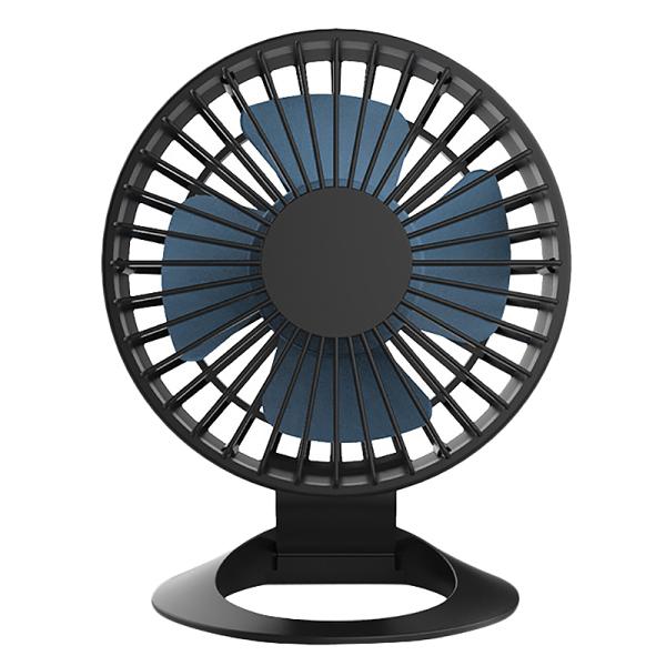 Desktop USB Small Fan Mini USB Silent Office Fan Household Fan Black Mini Fan with Battery