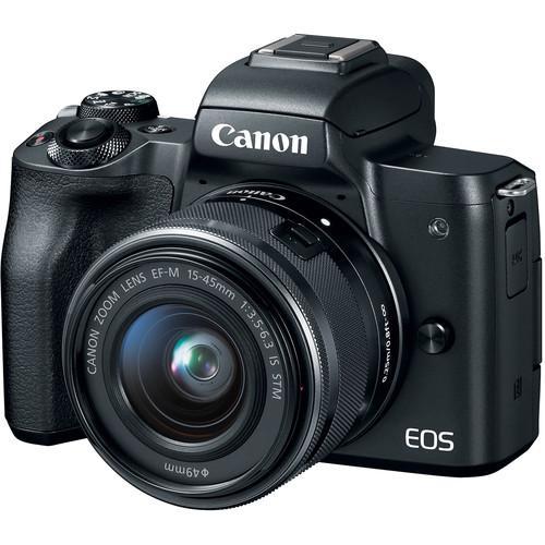 Chương Trình Ưu Đãi cho Máy ảnh Canon EOS M50 Kit 15-45mm STM - Chính Hãng - Tặng Thẻ 16GB + Túi