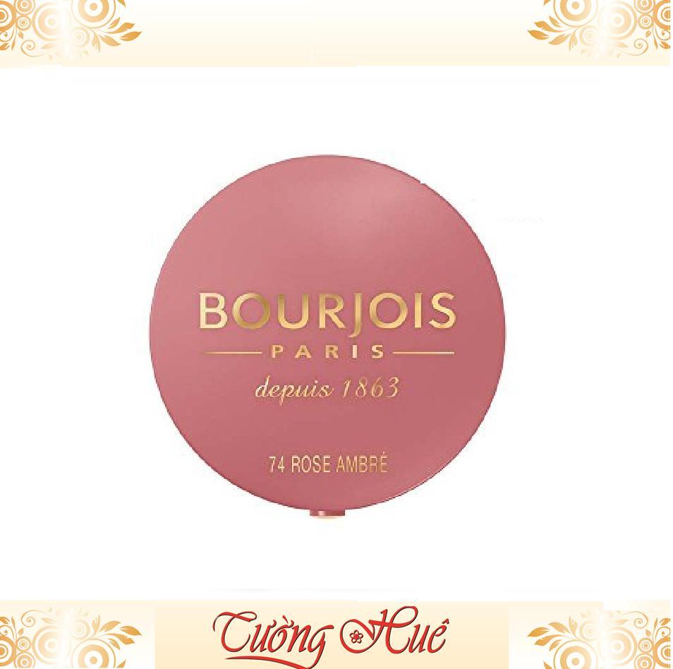 Phấn Má Hồng BourJois Paris #74 Rose Ambré - 2.5g tốt nhất