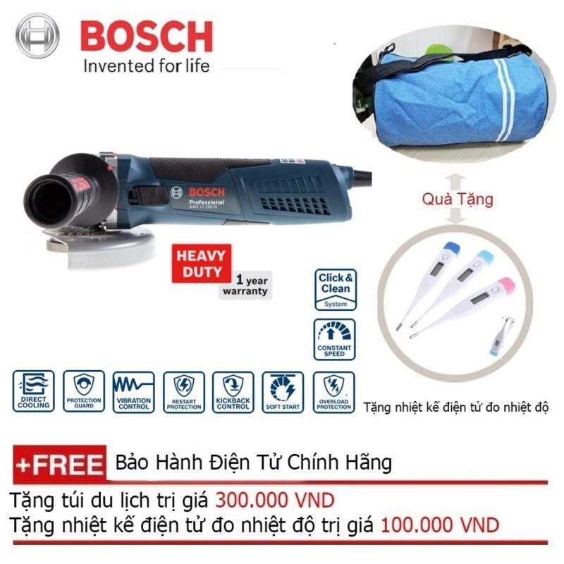 Máy mài góc nhỏ Bosch GWS 17-150 CI + Quà tặng balo du lịch
