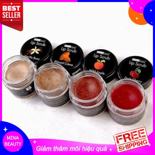 [HOT ITEM] - Tẩy tế bào  môi Lip Scrub - MINABEAUTY SHOP - hủ 10g làm hồng mềm môi