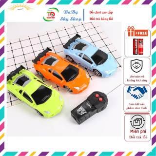 Xe Ô Tô Điều Khiển Từ Xa 2 Chiều Long Thuy Toys - No Brand Chạy Tiến, Lui, Tự Chuyển Hướng thumbnail