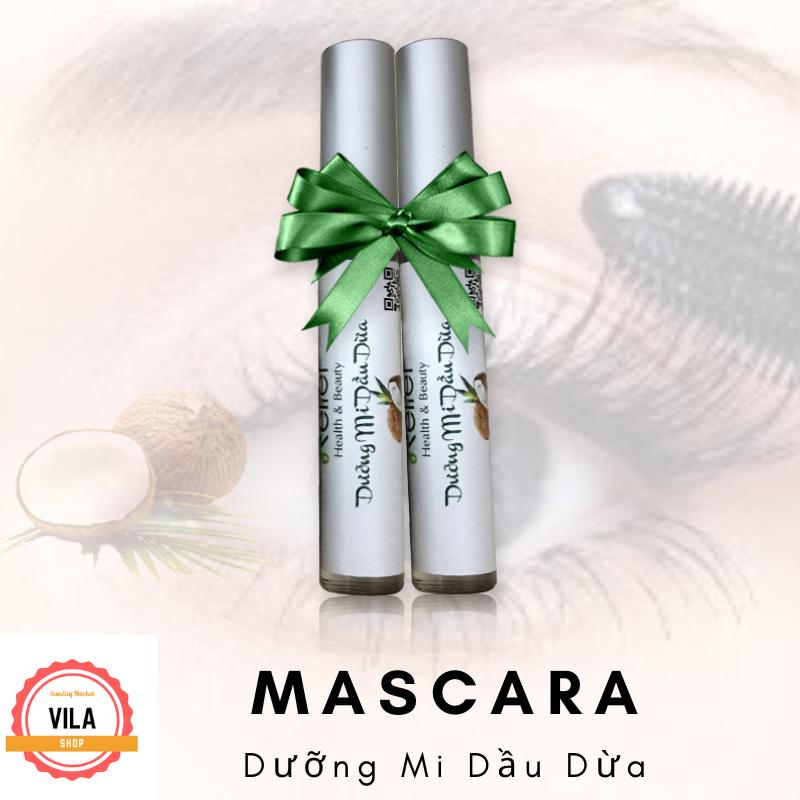 2 Cây Mascara dài mi dầu dừa VilaShop cao cấp