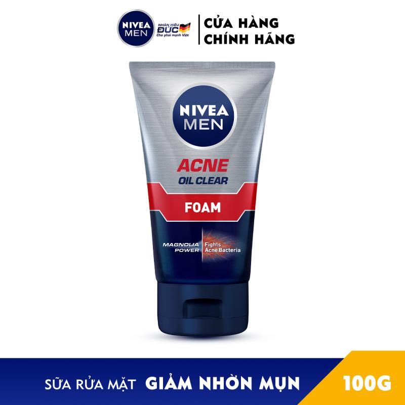Sữa Rửa Mặt NIVEA MEN Giảm Nhờn Mụn (100G) - 82378