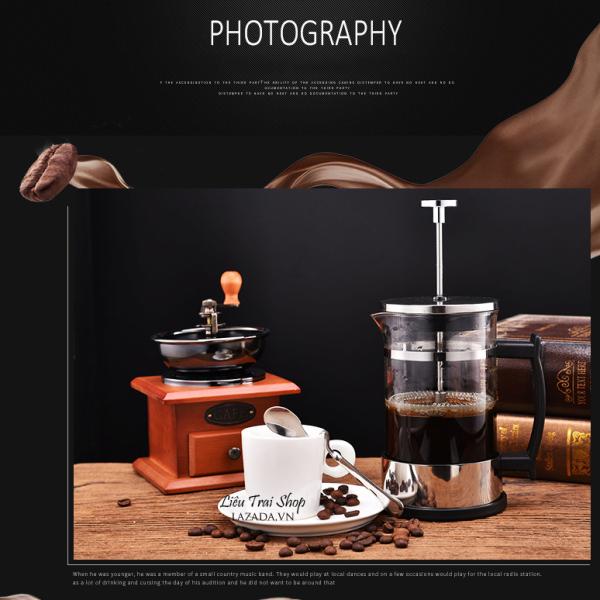 Bảng giá Bình pha cà phê cafe pha trà  French Press 600ml Điện máy Pico