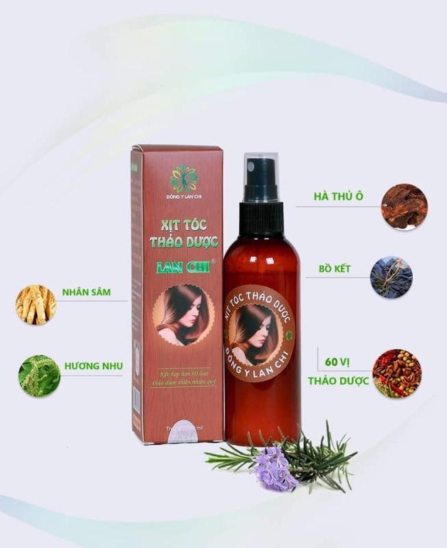 Xịt tóc thảo dược Lan Chi giá rẻ
