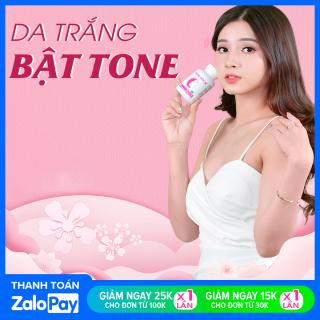 [COMBO 2 HỘP] Trắng Bền AZ làm đẹp da, giảm tàn nhan, giúp cân bằng nội tiết tố nữ (30 viên) Khánh Linh Pharma thumbnail
