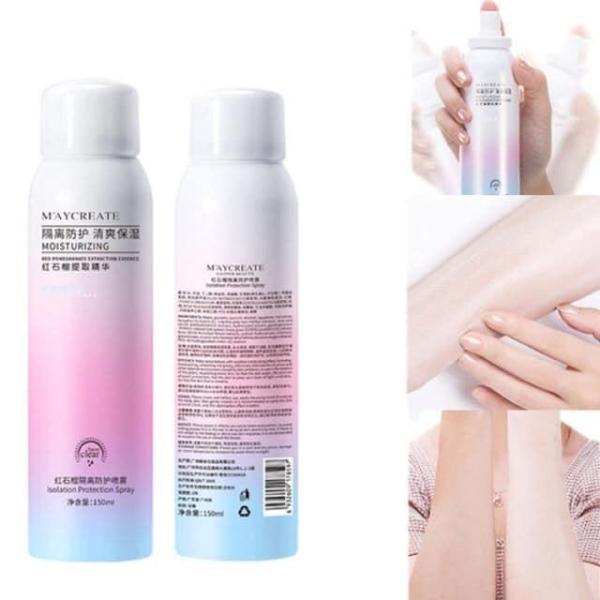 Kem Chống Nắng Dạng Xịt Siêu Chống Nắng Make up Da - Chai xịt chống nắng và làm trắng da Siêu Hot Hè 2019