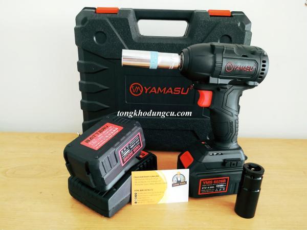 Máy bu long pin YAMASU 4 trong 1, xiết mở ốc ô tô, xe ga, bắt vít, bắn tôn và khoan