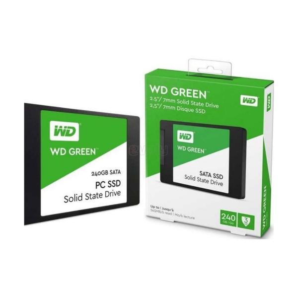 Bảng giá Ổ cứng SSD Western Digital SSD WD Green 240GB 2.5 SATA 3 - WDS240G2G0A - Hàng Chính Hãng Phong Vũ